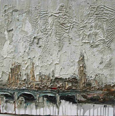 Oil painting by Carl Melegari