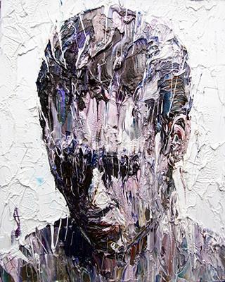 Painting by Carl Melegari